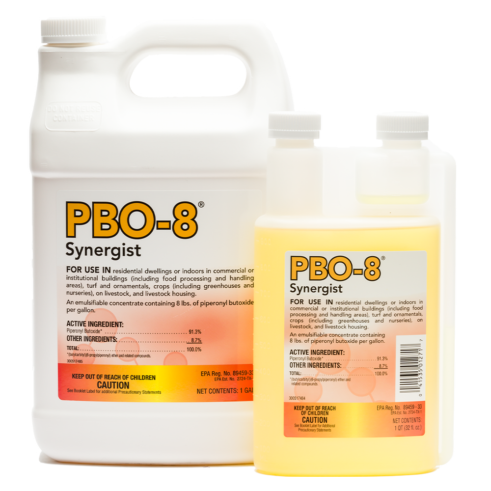 PBO-8 Synergist Family Product Shot